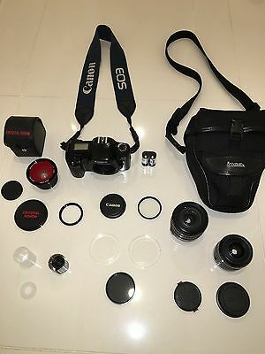 CANON EF28-105mm Zoom Lens AND EOS 1000FN Camera PACKAGE!
