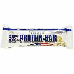 24 Packs of Weider Nutrition 32% Protein Bar Vanilla 60g