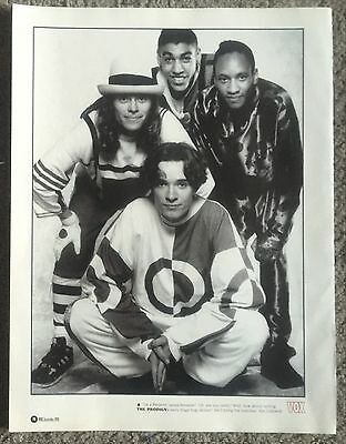 THE PRODIGY - 1996 full page magazine poster