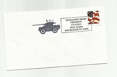 2003 Operation Iraqi Freedom commemorative cover - Art Cover Exchange   #uabf