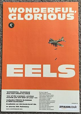 EELS - WONDERFUL GLORIOUS + TOUR 2013 full page magazine ad
