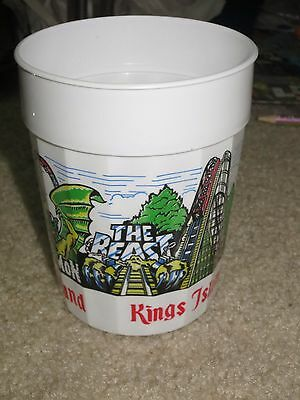 Vintage King's Island Beast The Demon King Cobra cup from 80s