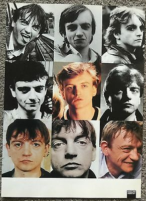 MARK E SMITH - 1997 full page magazine poster THE FALL