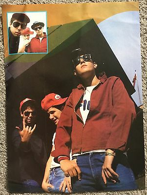 BEASTIE BOYS - 1987 full page poster