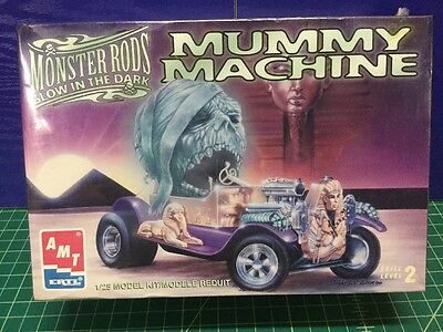 Amt 1/25 Mummy Machine Hot Rod Model Kit 8580 (Sealed)
