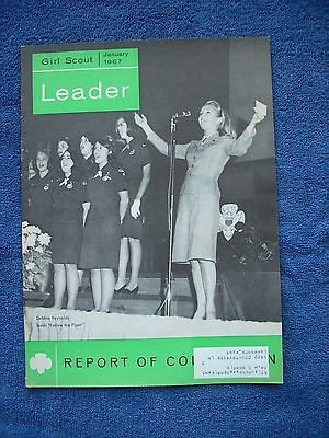 Girl Scout Leader Magazine - January 1967