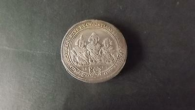 1626 Germany States Brandenburg-Ansbach Large Silver Taler 3 brothers