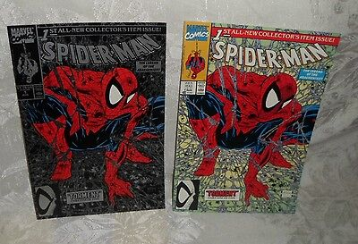 2 Spider-Man 1st All-New Collector's Item Issue 1990 Marvel Comics Torment 1 Sil