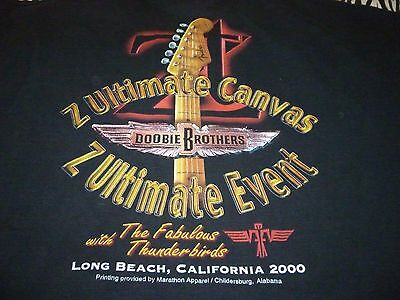 ZT / Doobie Brothers Vintage Tour Shirt ( Used Size XL ) Very Good Condition!!!