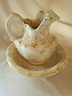 Water pitcher and Basin Bowl set