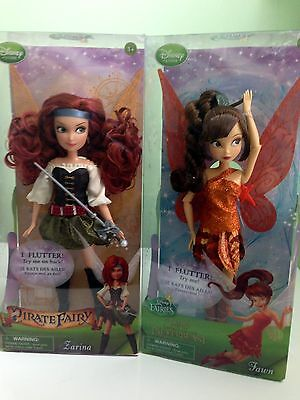 Disney Pirate Fairy Zarina and Fawn Legend of The Neverbeast...New