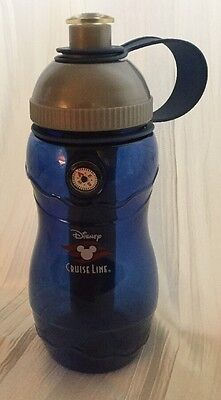 Disney Cruise Line Water Bottle w/ Pull Top, Chiller Insert, and Compass!