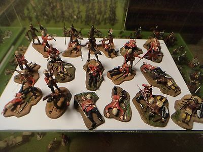 54mm 17 unique Zulu wars figures zulu 24th foot reduced to sell very low price