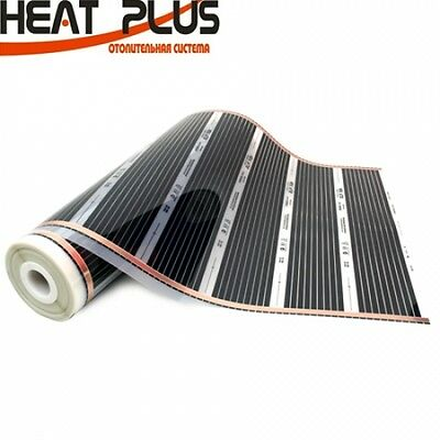 Underfloor Heating Film Kit With Insulation 1m Width For Under Laminate/S Floor