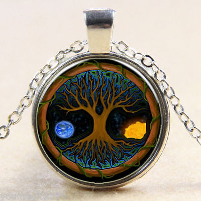 Tree Of Life EARTH  protection pendant necklace  Formally BLESSED