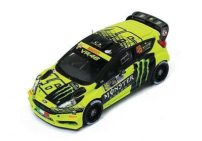 1/43 IXO RAM620 MONSTER Ford Fiesta RS WRC VR46 Rally Monza 2015 Valentino Rossi