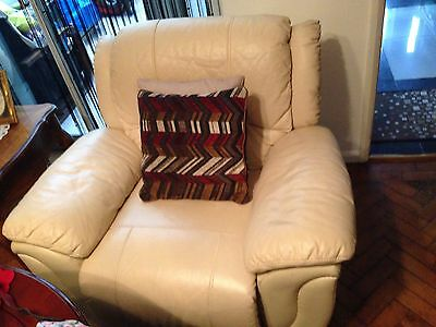leather recliner chair