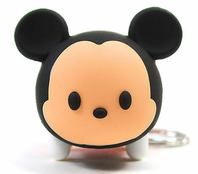 DISNEY TSUM TSUM Figural Keyring Series 2 MICKEY MOUSE KEYCHAIN Opened Blind Bag