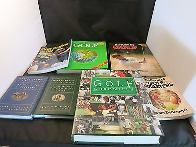 Lot of (7) Golf Books in NICE Condition!!!