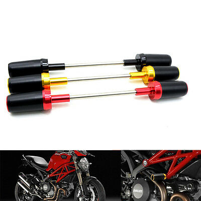CNC Engine Cover Frame Sliders Crash Protector For Ducati Monster 696 795 796