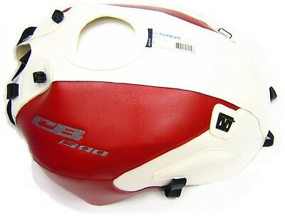 Bagster TANK COVER Honda CB1300 2003-13 WHITE/RED Baglux TANK PROTECTOR 1467A