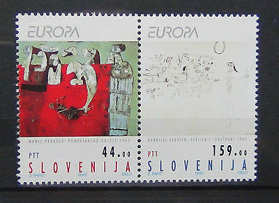 Slovenia 1993 Europa Contemporary Art set MNH