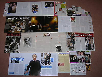 35+ WOODY ALLEN Magazine Clippings
