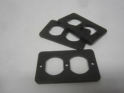 3 LEX MARINCO Distribution & Rubber Box Outlet Covers Coverplate