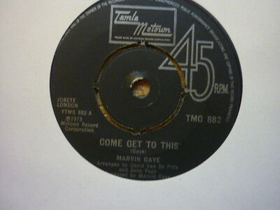 northern soul marvin gaye come get to this uk tamla motown 882