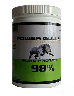 Muscle Builder POWER BULLY Platinum Muscle Builder 98% Protein 500g