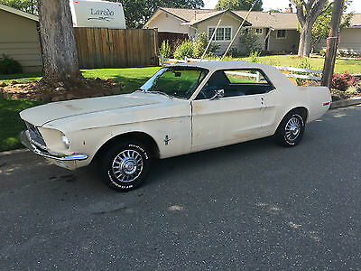 1968 Ford Mustang 289 V8 Coupe (Rust Free California Car, also 302 Ranchero's)