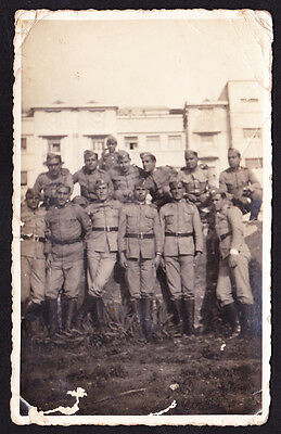 Original Photo - Wwii . Portuguese Military . Soldiers With Gala Uniform