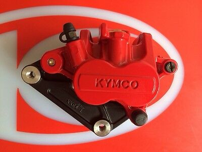 Kymco 45100-LFH1-E00-EBA Caliper Assy Front Left - RED - Xciting R500i ABS