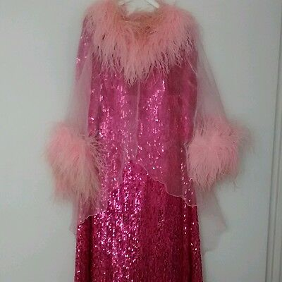 Original gown from 'Dorothy Squires-Mrs Roger Moore' musical worn by Lana Pillay
