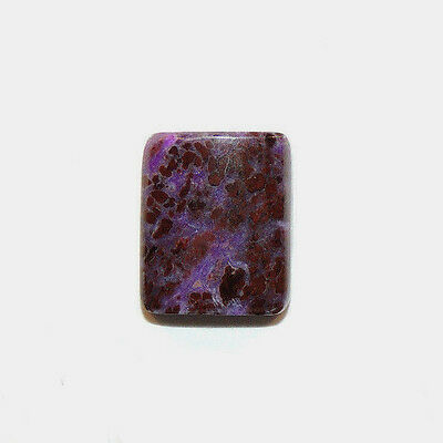Sugilite Cabochon 14.5x12mm with 4mm dome (11664)