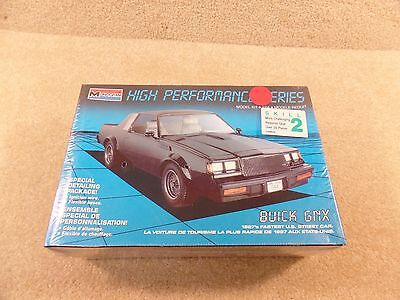 New 1989 Monogram 1:24 Scale Model 1987 Buick Regal GNX High Performance Series