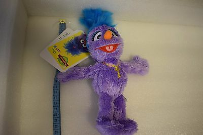 FURCHESTER SESAME STREET SOFT TOY PHOEBE APPROX 24cm NEW WITH TAGS
