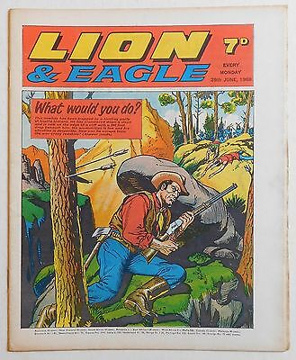 LION and EAGLE Comic - 28th June 1969