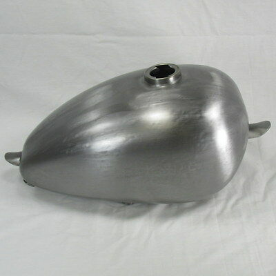 Wassell Style Steel Motorcycle Gas Tank 1.8 Gal Harley Chopper Bobber MID TUNNEL