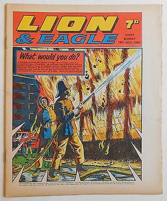 LION and EAGLE Comic - 19th July 1969