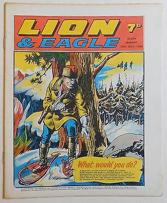 LION and EAGLE Comic - 26th July 1969