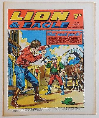 LION and EAGLE Comic - 2nd August 1969