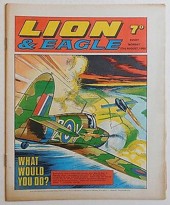 LION and EAGLE Comic - 23rd August 1969