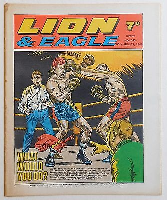 LION and EAGLE Comic - 30th August 1969