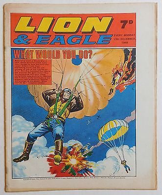 LION and EAGLE Comic - 13th December 1969