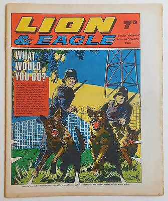 LION and EAGLE Comic - 20th December 1969