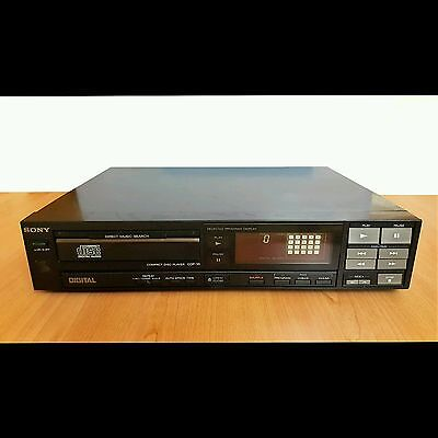 SONY CDP-35 Compact Disc player Old School