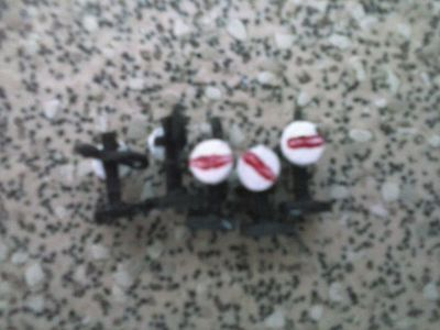 N-Gauge Ground Signals x 5 with bases