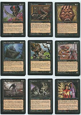 Magic Visions ✰ COMPLETE SET ✰ SET COMPLETO ✰ Vampiric tutor natural order