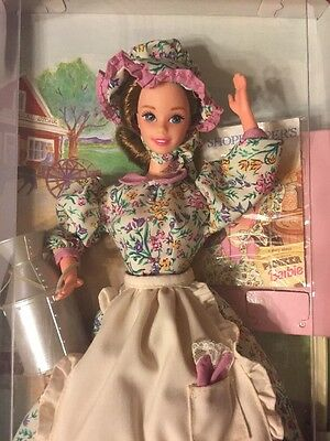 American Stories Collection Special Edition Pioneer Barbie Doll 1995 New In Box